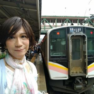 初❗青春18きっぷでおでかけ~💞TASKー04−02  乗りたかったホームライナー浜松3号に乗って、呑んで🍶食べて🍣楽しんだ〜
