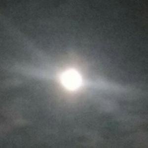 第九夜の月を眺めながらおもふ。。。🌔