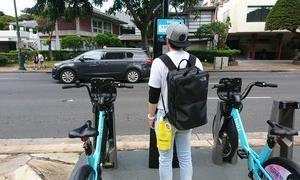 ハワイでレンタルサイクルで行動範囲を広げる     BIKIの利用方法
