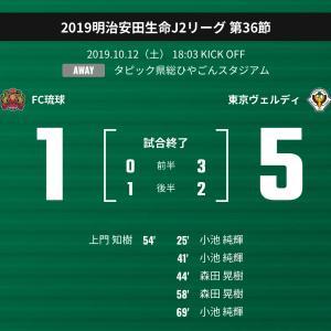 【J2-2019】FC琉球 vs 東京ヴェルディ