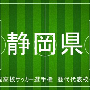 高校サッカー選手権 | 静岡県 | 歴代代表校一覧