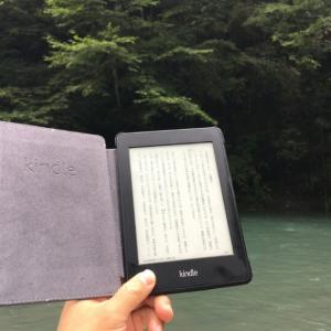 キャンプでゆっくり読書するならKindleがおすすめ【ソロキャンプに最高のお供】