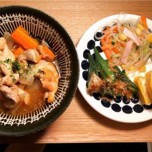 チキンのトマト煮 と 10月すること