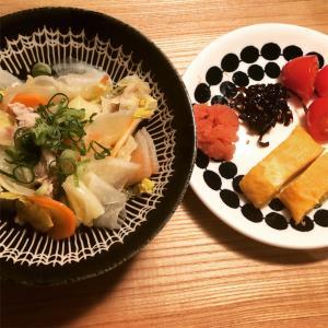胃を労わるご飯 と 冬休みの話