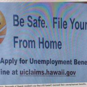 ハワイ州は、毎週の失業手当で追加の$300の配布を開始する(Hawaii News Now)