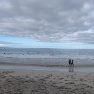 昨日、ハワイ島3日目、最終日は、Magic Sands Beach Park、こと La&#39
