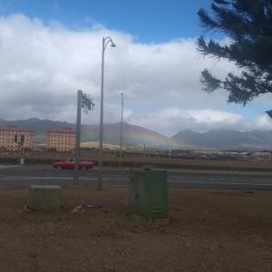 おはようございます。今日は、出勤途中で、虹が低ーく出てるのを発見し、思わずパシャリ今...