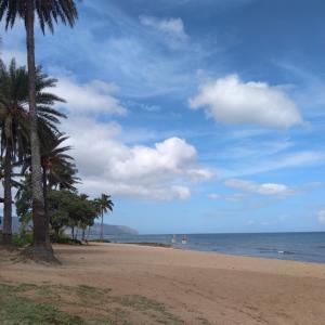 ハレイワ、アリイビーチに来ました。