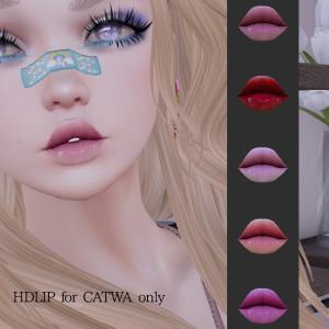 HD Lipstick for Catwa head