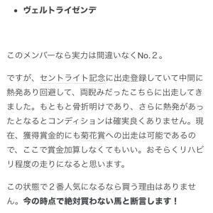 菊花賞 考察