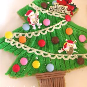 手作りのクリスマスケーキでクリスマスイブを