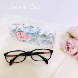 シンプルなメガネケースを可愛い生地で♡