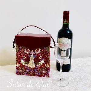 ワインのテイスティンググラスケースをカルトナージュで
