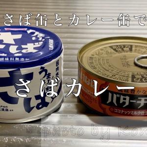 超簡単!さば缶とカレー缶で作るさばカレー。