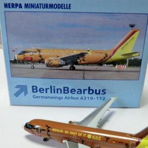 【ベアバス?】ヘルパ ジャーマンウイングス A319 D-AKNO Herpa 509107