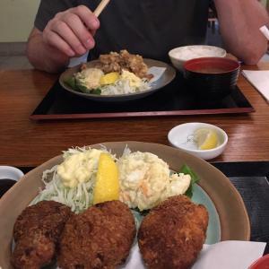 久々、日本食レストラン