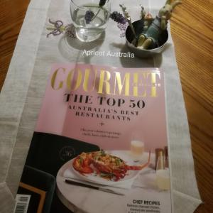 My favourite magazine Gourmet Traveller