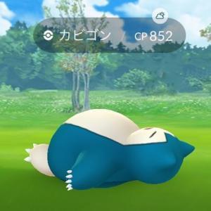 【ポケモンGO】カビゴンが街中で大量に寝ている笑…こいつ、期間限定技持ってるぞ!