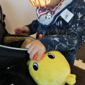 新大阪駅で見つけた『チキラーハウス』に息子が大興奮!!
