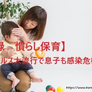 【実録 慣らし保育】RSウイルスが大流行で息子も感染危機?!