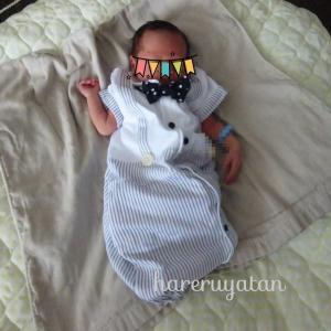 【夏産まれの赤ちゃんに】重宝したのは万能ガーゼバスタオル☆