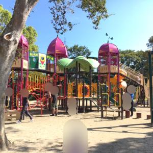 【茨城 公園情報】子供が喜ぶ東海村阿漕ヶ浦公園レポ♡遊具が沢山でピクニックにも最適♪