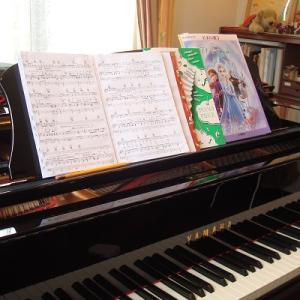 ピアノ伴奏で1年ぶりの再会