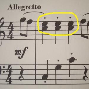 *和音の練習方法*メロディーラインを目立たせよう