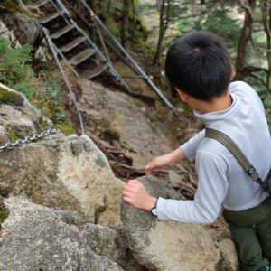 池山尾根から空木岳の手前まで~子供と日帰り登山