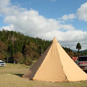滋賀のウッディパル余呉でファミリーキャンプ