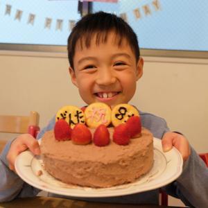 ゲンタ、8歳の誕生日