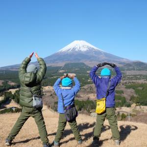 愛鷹山(越前岳)で家族ハイキング納め