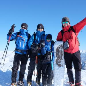 雪山始めは谷川岳から~親子で雪山登山