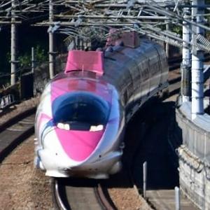 大津トンネル ハローキティ 新幹線上り (11/15)