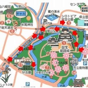 姫路城周辺の紅葉