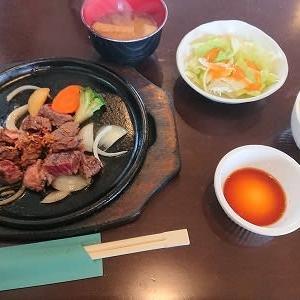 キッチン五斗米 ハラミステーキセット