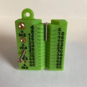 3Dプリンタで電子工作の治具を作る ~6~ (ネジスケール)