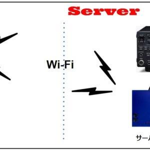 電鍵やパドルを Wi-Fi でリモートする ~10~