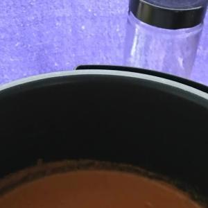 圧力鍋でトマトビスクを作りました