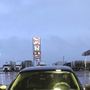 オクラホマにまたまた雪が降りました!という話