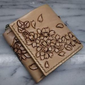 二つ折りの財布・完成