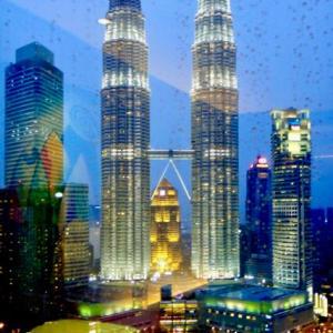 【マレーシア】雨のクアラルンプールでそんな旅友