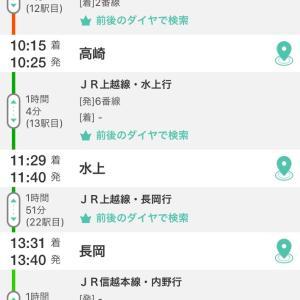 図らずも通過した日本一のモグラ駅!