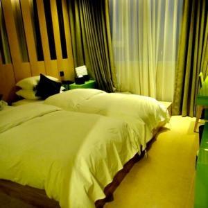 オープンして間もない「ホテル・ザ・デザイナーズ 弘大」に宿泊