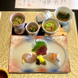 今井浜東急ホテル 2日目夕食は「七滝」で和食