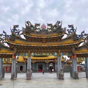 「五千頭の龍が昇る聖天宮」に行ってみた①