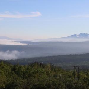雲海を見に十勝岳へ