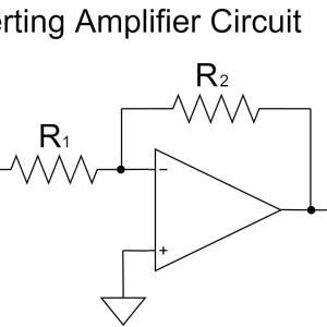 オペアンプの反転増幅回路