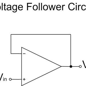オペアンプの電圧フォロワ(ボルテージフォロワ)