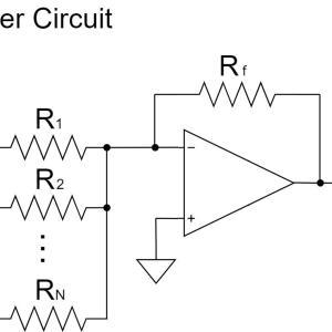オペアンプの加算回路